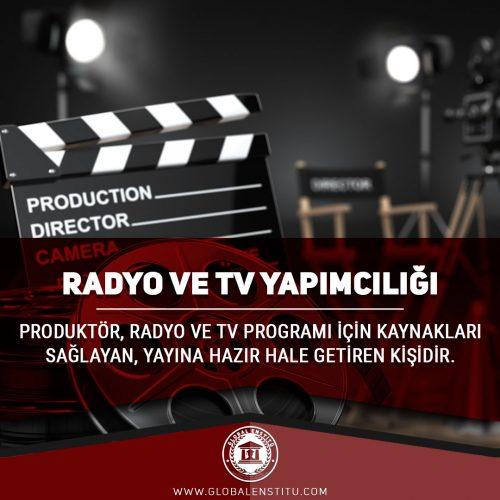 Radyo ve TV Yapımcılığı
