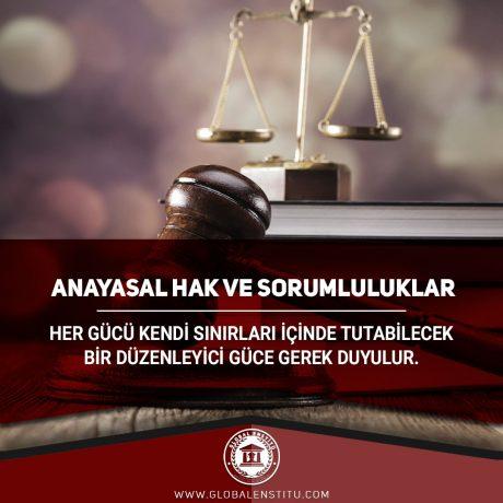 Anayasal Hak ve Sorumluluklar